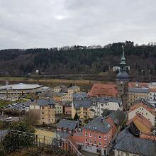 Blick auf Bad Schandau