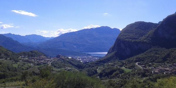 Panorama da Ville del Monte - Tenno