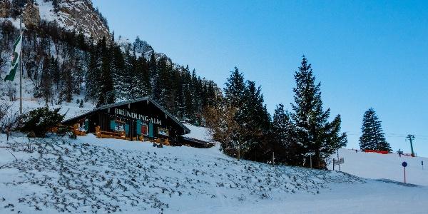 Brünnling Alm im Skigebiet Hochfelln