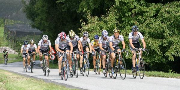Rennradfahren in der Oststeiermark (c) FC Donald