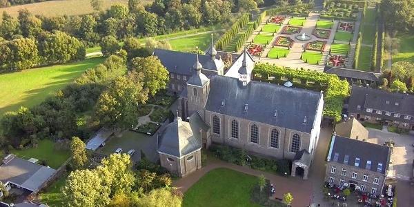 Anlage Kloster Kamp aus der Luft