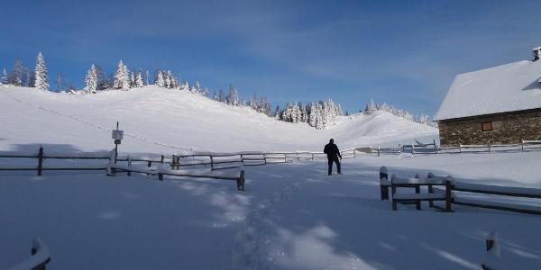 Schneeschuh-Runde am Brandkogel_Soldatenhaus
