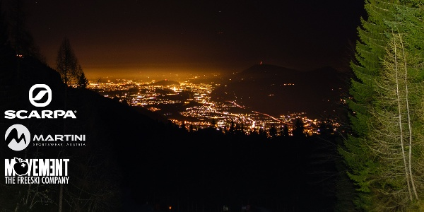 Salzachtal bei Nacht