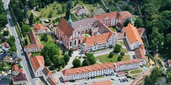 Luftaufnahme Kloster St. Marienstern