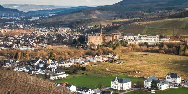 Der Blick auf Ahrweiler