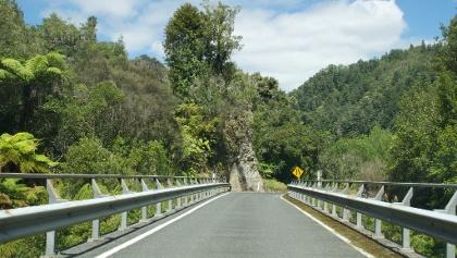 Unterwegs auf dem New Zealand State Highway 43