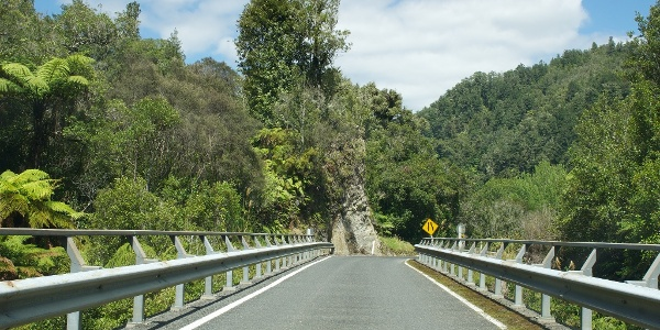Unterwegs auf dem New Zealand State Highway 43