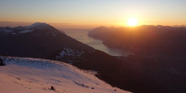 Sunset from Monte Stivo