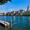 Diessenhofen verfügt über einen sehr gut erhaltenen mittelalterlichen Ortskern.