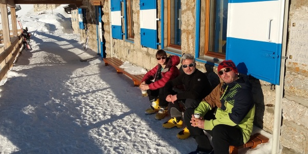 Relax al rifugio Marchetti