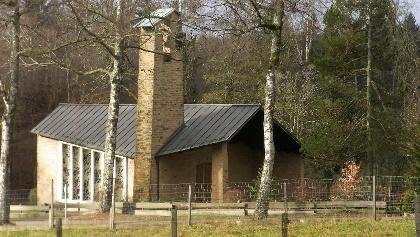 Die Kapelle aus einer anderen Perspektive
