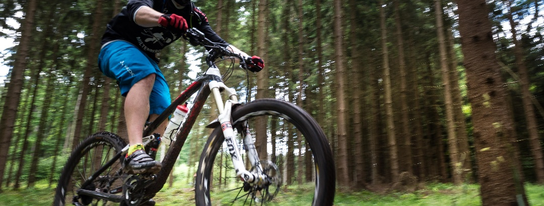 Mountainbiken in Churfranken