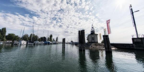 Der Hafen in Romanshorn