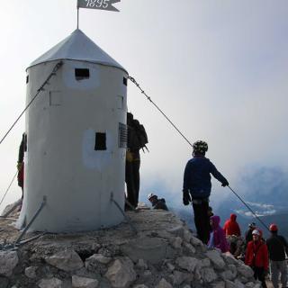 Das Ziel der Triglav - Gipfel