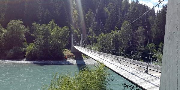 Hängebrücke Punt Ruinaulta