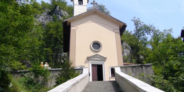 Kirche von Madonna delle ferle