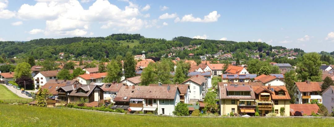 Blick über Immenstadt