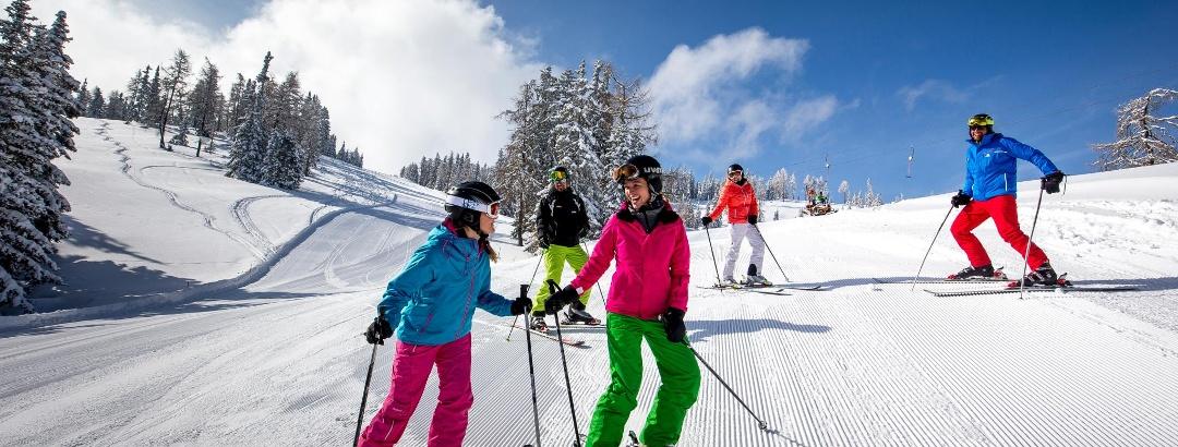 Skifahren in Grebenzen