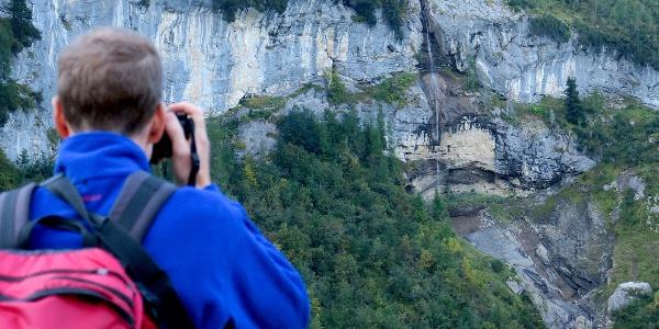 Blick auf die Cascade du Dard.