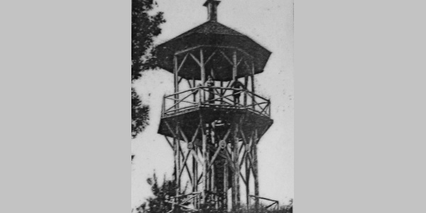 Erste Starhembergwarte des ÖTK in Holzbauweise (1882-1895)