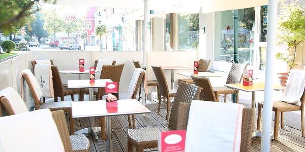 Café-Konditorei Gensinger: Gastgarten