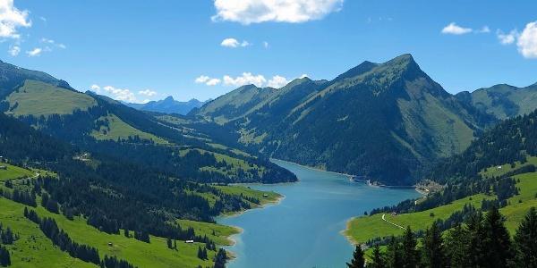 Lac de l'Hongrin.