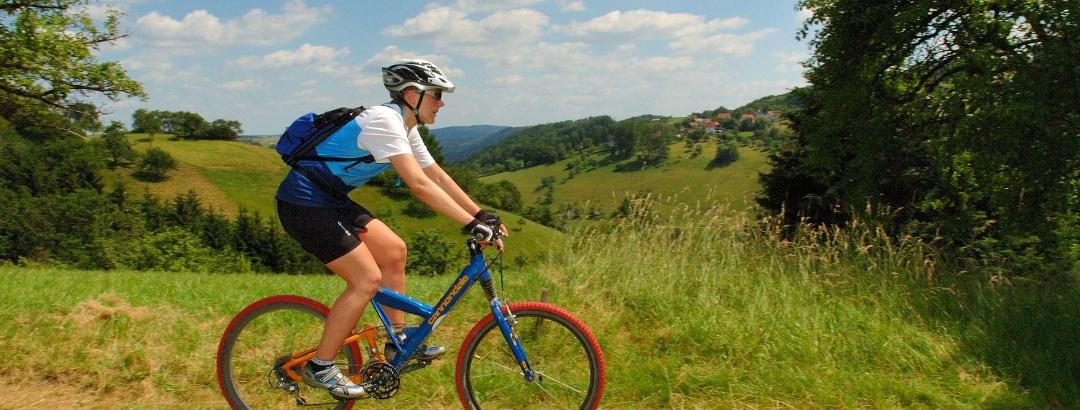 """MTB-Trail auf der Murrhardt Mountainbike Tour """"Römerritt"""""""