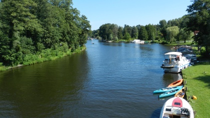 Boote bei Dolgenbrodt