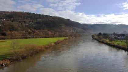 Neckarüberquerung bei Neckargerach