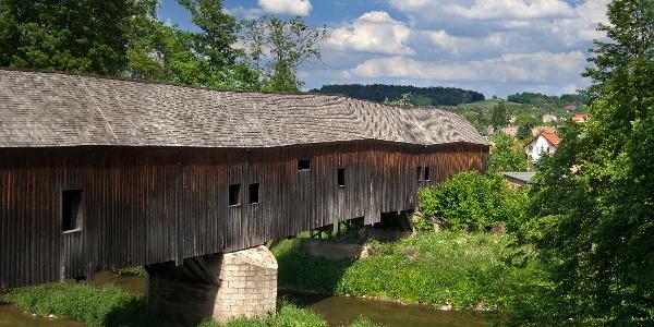 Holzbrücke Wünschendorf