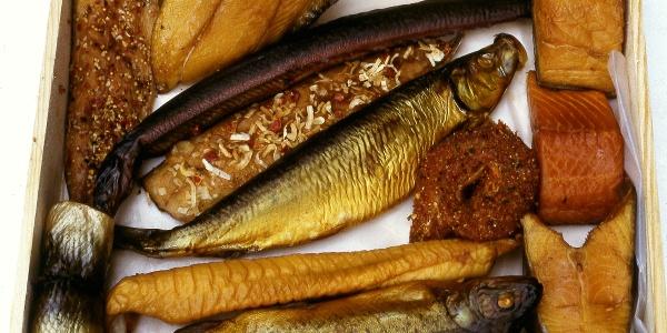 Köstlichkeiten von der Fischmeile