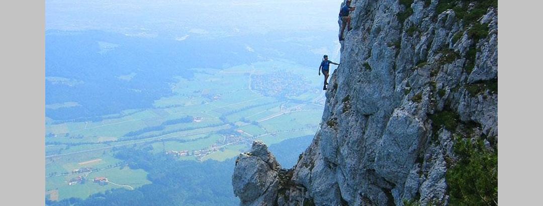 Hochstaufen Klettersteig