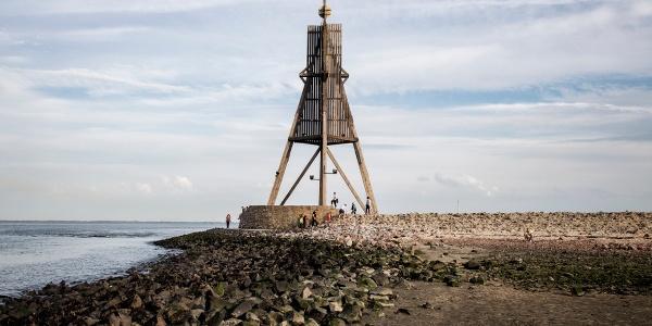 Kugelbake - Wahrzeichen von Cuxhaven
