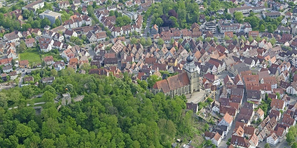 Ausblick auf Herrenberg