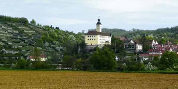 Blick auf Gundelsheim