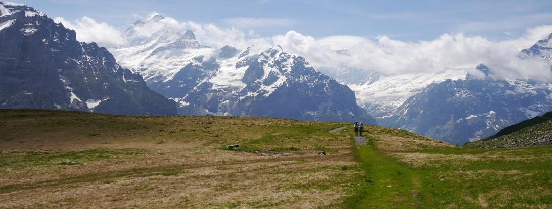 Schwarzhorn (2927 m) - Aufstieg