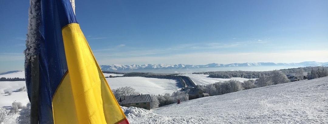 View to Semenic Peak