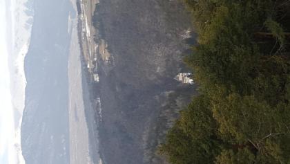 San Romedio dalla panoramica di Smarano