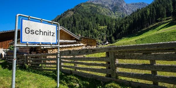Zustieg ab Gschnitz