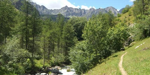 Berglandschaft im Piemont