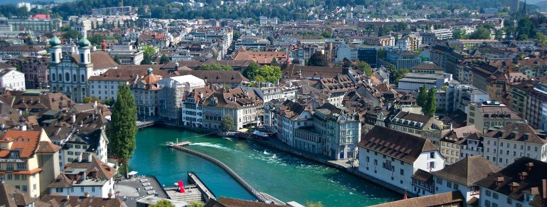 Spreuerbrücke in Luzern.