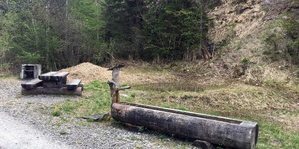 Grillstelle beim Chopfwald