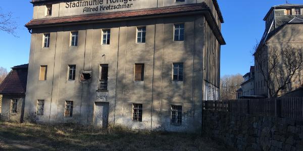Ruine der ehemaligen Stadtmühle Königsbrück