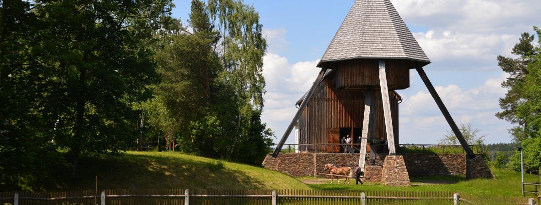 Besucherbergwerk Pferdegöpel Rudolphschacht