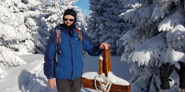 Gipfelbild Hennesteck 1334m