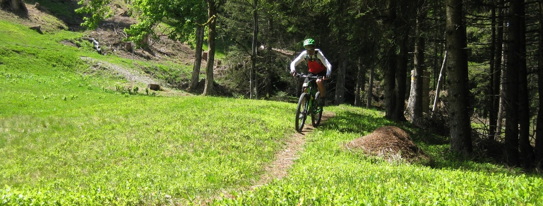 Mountainbiken am Pizol