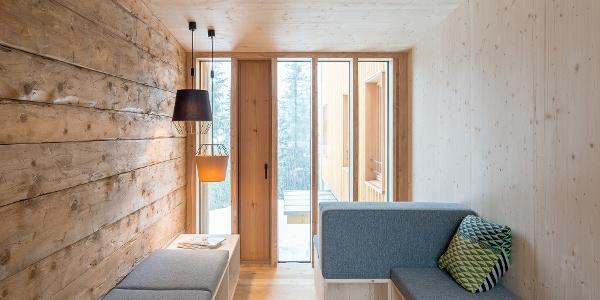 Leseecke der Lindauer Hütte
