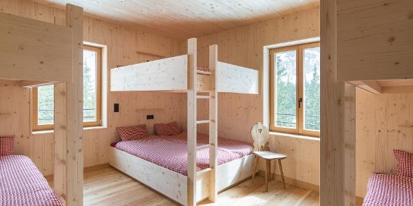 Lager der Lindauer Hütte