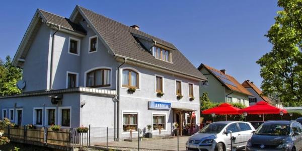 Gästehaus Café Andrea_Außenansicht