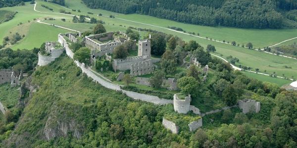 Gesamtansicht der Festung Hohentwiel